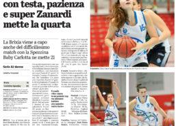 Giornale di Brescia del 16 Novembre 2020