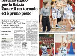 Giornale di Brescia del 30 Novembre 2020