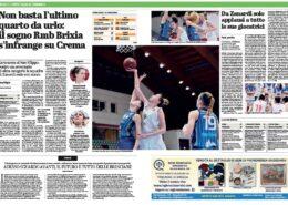 Giornale di Brescia del 13 Marzo 2021