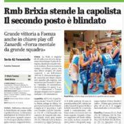 Dal Giornale di Brescia del 24 aprile 2021