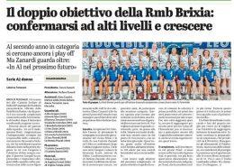 Dal Giornale di Brescia del 12 Settembre 2021